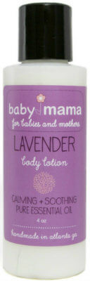 BabyMama Lavender Lotion 4 oz. | Mama Bath + Body