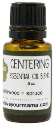 Centering (Cedarwood + Spruce) Essential Oil Blend | Mama Bath + Body