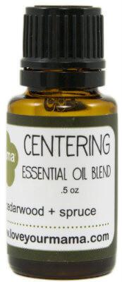 Centering (Cedarwood + Spruce) Essential Oil Blend | Mama Bath + Body