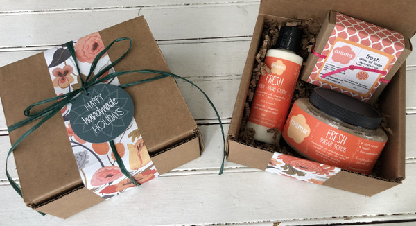 Fresh (Grapefruit + Tangerine) Gift Set | Mama Bath + Body