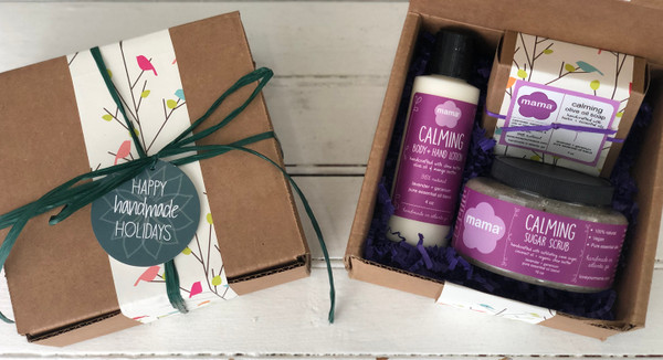 Calming (Lavender + Geranium) Gift Set   Mama Bath + Body