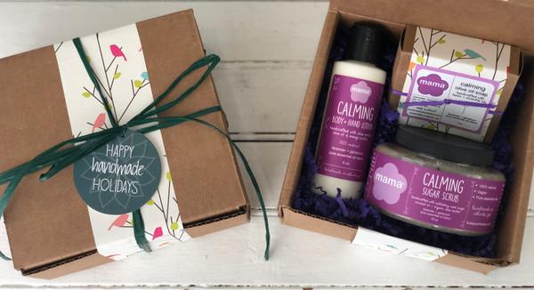 Calming (Lavender + Geranium) Gift Set | Mama Bath + Body