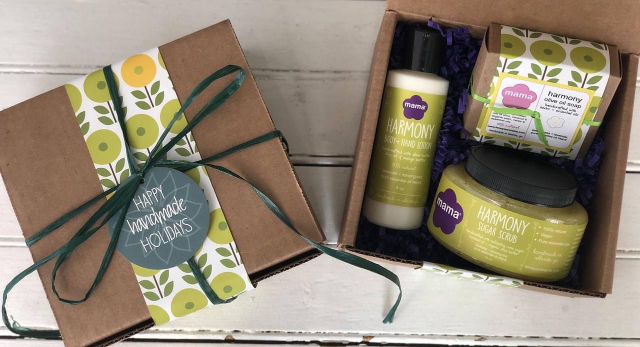 Harmony (Lavender + Lemongrass) Gift Set | Mama Bath + Body