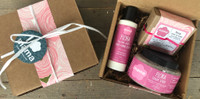 Rose Geranium (Flora) Gift Set | Mama Bath + Body