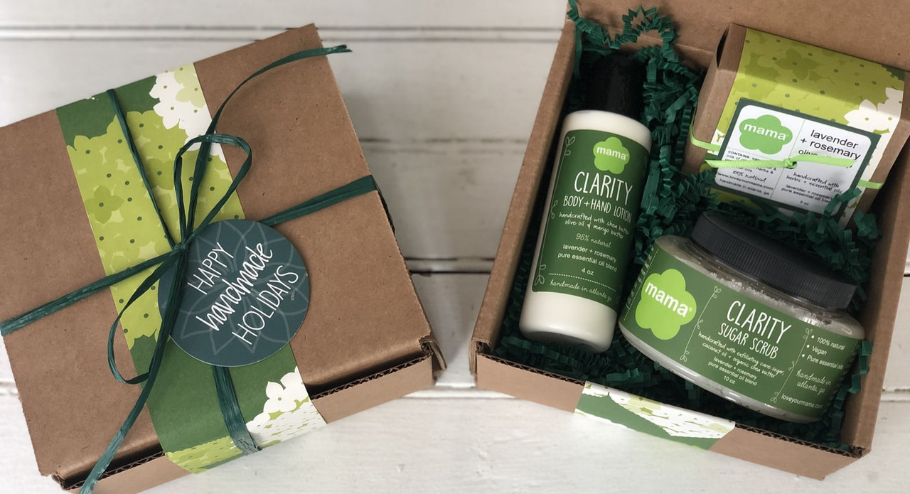 Lavender + Rosemary Gift Set | Mama Bath + Body