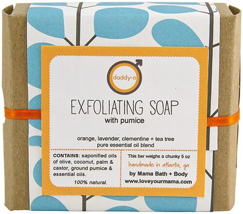Exfoliating Soap - Gift Wrapped   Mama Bath + Body