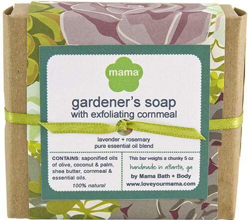 Gardener's Soap - Gift Wrapped   Mama Bath + Body
