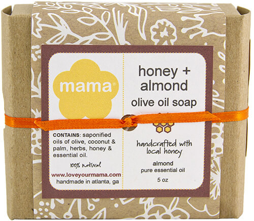 Honey + Almond Soap - Gift Wrapped | Mama Bath + Body