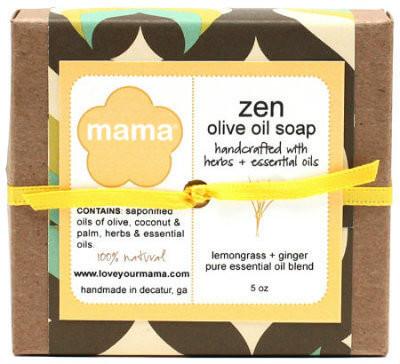 Zen Soap (Lemongrass + Ginger) - Gift Wrapped | Mama Bath + Body