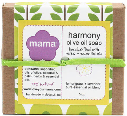 Harmony Soap (Lavender + Lemongrass) - Gift Wrapped | Mama Bath + Body