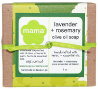 Lavender + Rosemary Soap - Gift Wrapped | Mama Bath + Body