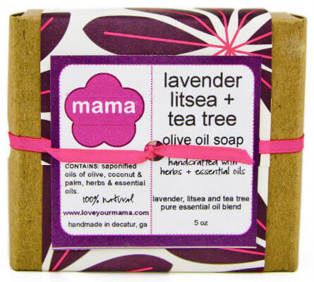 Lavender, Litsea + Tea Tree Soap - Gift Wrapped | Mama Bath + Body