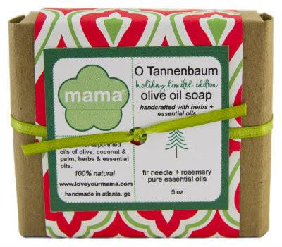 O'Tannenbaum Soap - Gift Wrapped | Mama Bath + Body