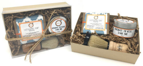 Daddy-O Bergamot + Fir Needle Shave Kit | Mama Bath + Body