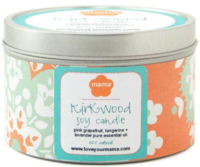 Kirkwood Neighborhood Soy Candle | Mama Bath + Body