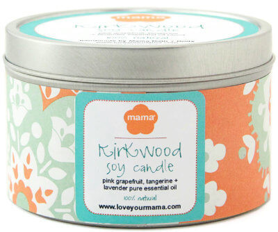Kirkwood Neighborhood Soy Candle | Mama Bath + Body