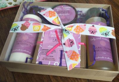 BabyMama Lavender Gift Set | Mama Bath + Body