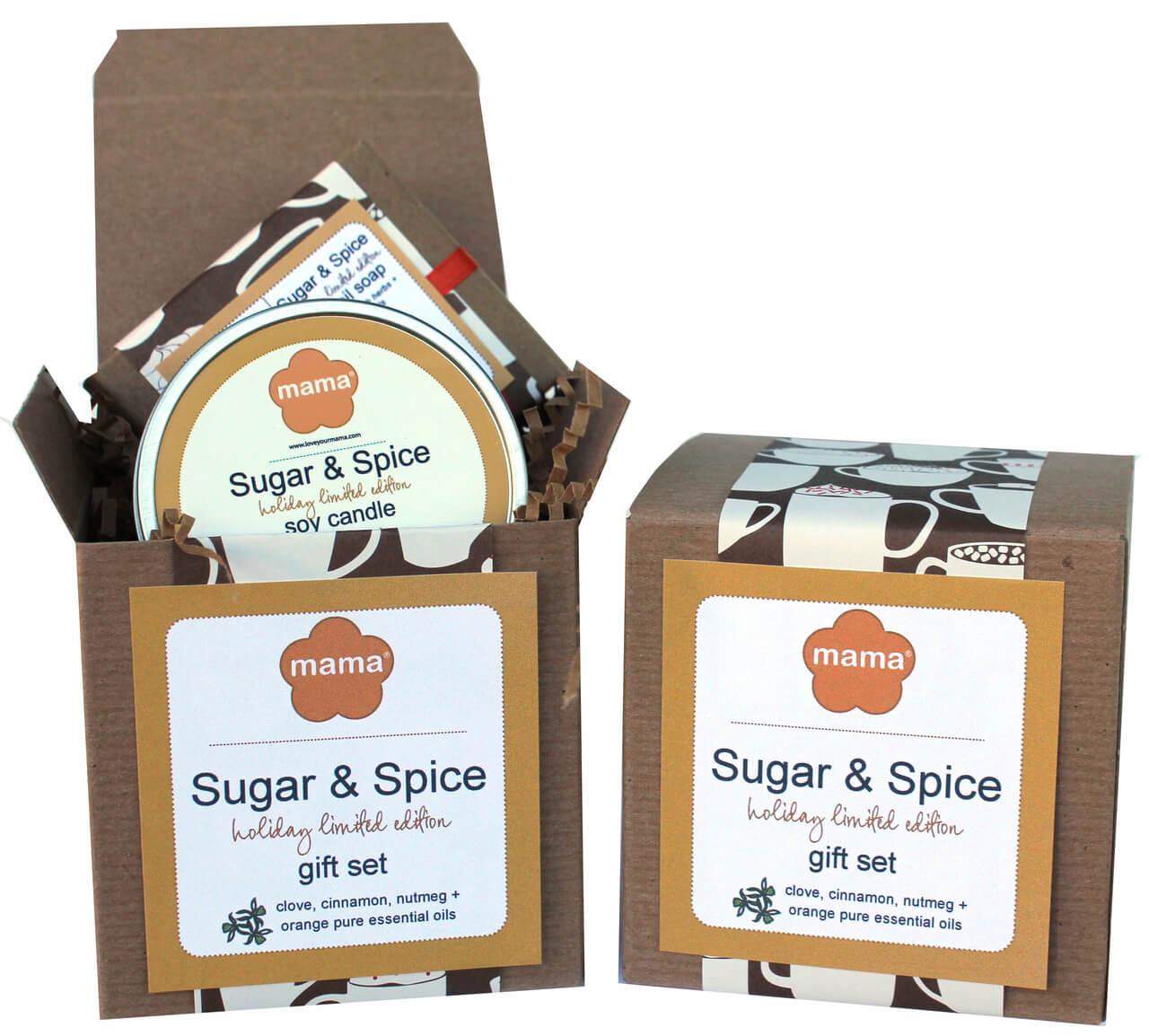 Sugar + Spice Gift Set   Mama Bath + Body