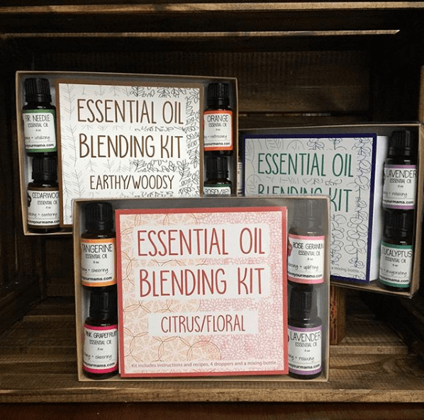 Essential Oil Blending Kit - Earthy/Woodsy | Mama Bath + Body