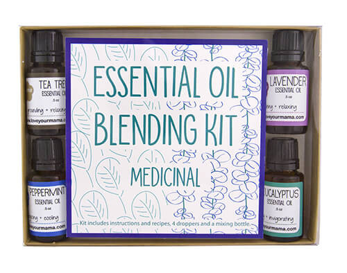 Essential Oil Blending Kit - Medicinal | Mama Bath + Body