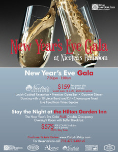 2019 New Year's Eve Gala at Nicotra's Ballroom