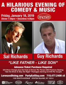 Like Father - Like Son, Friday, January 18, 2019