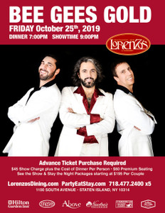 Bee Gees Gold Friday October 25, 2019