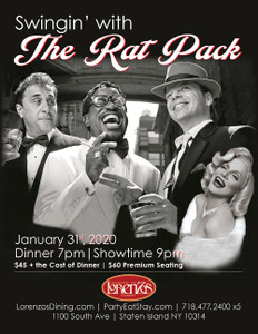 Swingin' With The Rat Pack - Friday, January 31st 2020