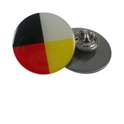 Medicine Wheel Lapel
