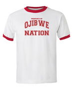 Ojibwe Nation Ringer T-Shirt