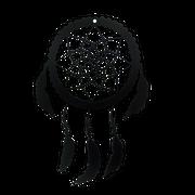 Dream Catcher Metal Silhouette