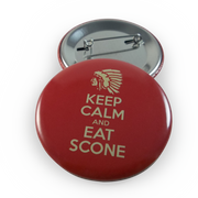 Keep Calm Eat Scone Button