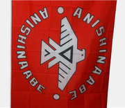 Anishinaabe Thunderbird Flag: 5ft x 3ft (150 x 90 cm)