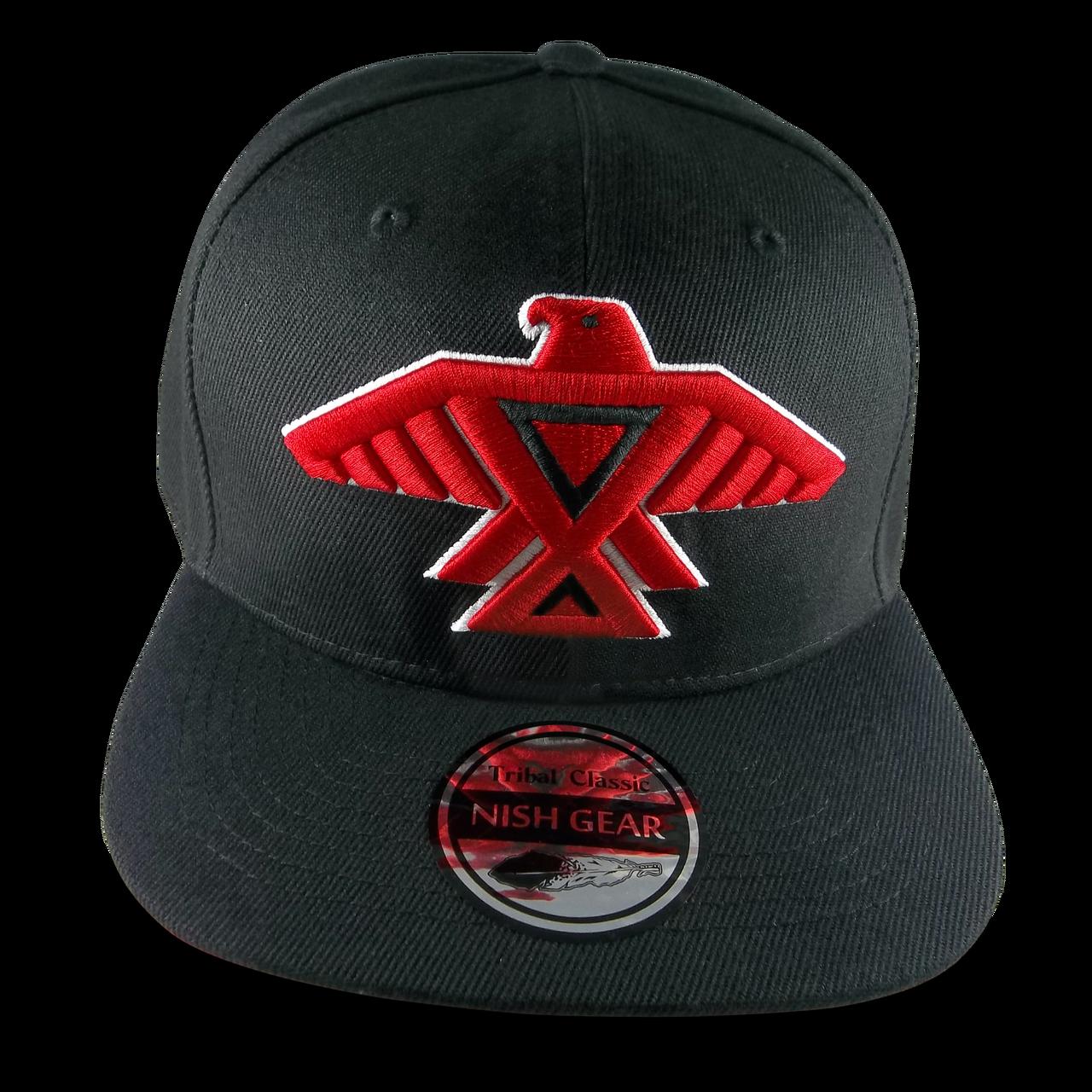 Ojibwe Anishinaabe Thunderbird Snapback Hat c0cd4ced0266