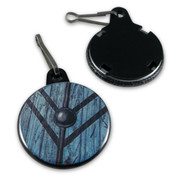 Vikings Lagertha shield Zipper Pull