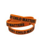 Every Child Matters-Orange Shirt Day Silicone Wristband,Pack Of 10