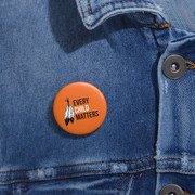 Every Child Matters Pinback Button,Magnet, Pocket Mirror, Printed Button Badge