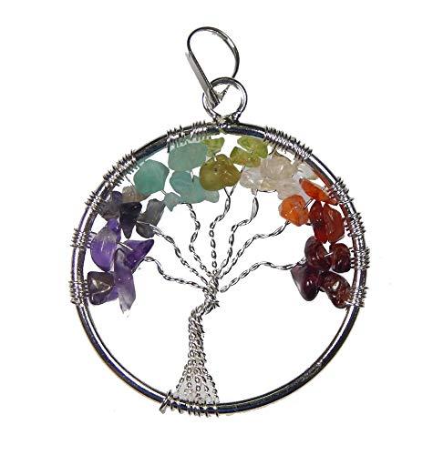 Chakra Tree Of Life Pendant