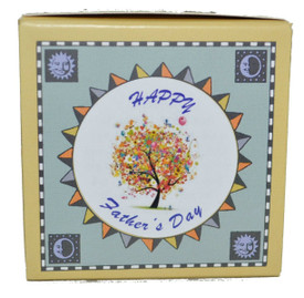 Holiday tree kits come in 9 species and have a special seal placed on top of the kit for a little extra Father's Day Holiday kit