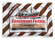 Fishermans Friend Licorice Lakritz, without Sugar, Sugar free 25 g - 0.88 Oz