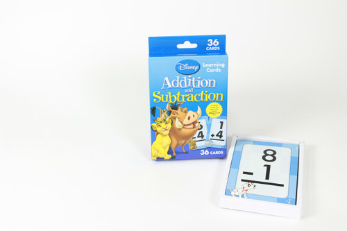 Let the famous Disney Charakter help you with training your child to understand how to make an addition or subtraction.