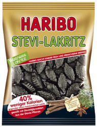 Haribo Stevia Licorice 100g / 3.5 Oz Sugar Free *contains other sweetener