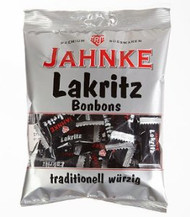 Jahnke Licorice traditional - Lakritz Bonbon  125 g - 4.41 oz