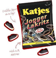 Katjes Jogger Lakritz 200g / 7oz Soft Licorice with Fruit Foam