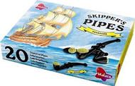 BestByDate 08/20 Sale: Leaf Skippers Pipes Seasalt Lakritzpfeiffen - 20 Pcs / 340g/12oz