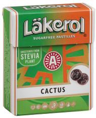 Cactus Läkerol Sugar-free Pastilles 23g pastilles by Laekerol (Stevia)