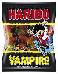 Haribo Vampire 200 g / 7 oz fruity Licorice gums