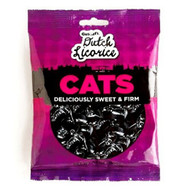 Gustaf's Dutch Licorice Cats sweet & firm Bag 150g - 5.29oz