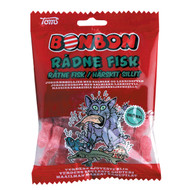 Toms Bonbon Rådne Fisk Salmiak & Strawberry Hard Candys Bag 125g - 4.4oz