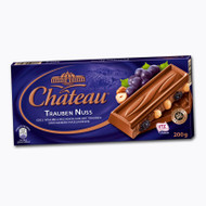 Chateau Trauben Nuss - Grape & Whole Nut - Milk Chocolate 200g - 7.05 Oz